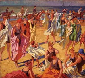 The Bathers, Deauville